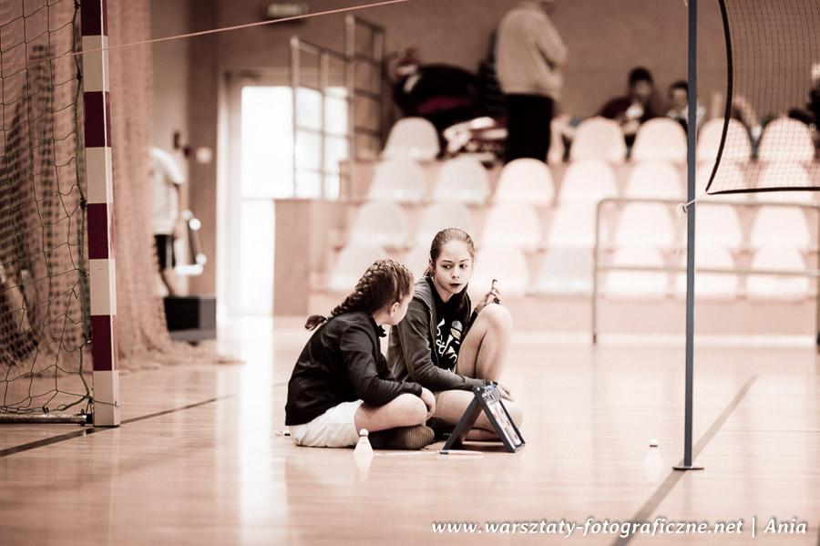 Spacer fotograficzny - zdjęcia sportowe, badminton