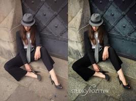 edycja zdjęcia - przed i po obróbce