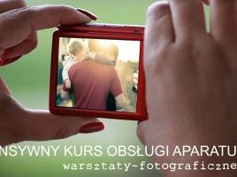 intensywny kurs obsługi aparatu fotograficznego