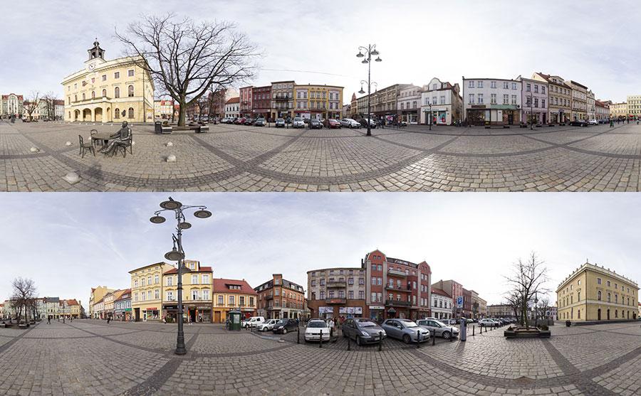 Wirtualny spacer - Ostrów Wielkopolski
