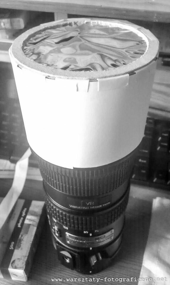 filtr zfolii Baader Solar Foil