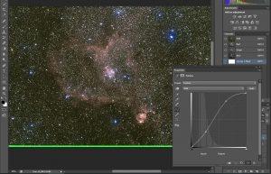 warsztaty astrofotografii - łączenie kanałów fotografii