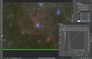 kurs astrofotografii - łączenie kanałów koloru