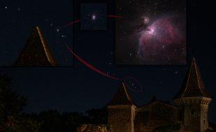 Gwiazdozbiór Oriona i Wielka Mgławica (M42)