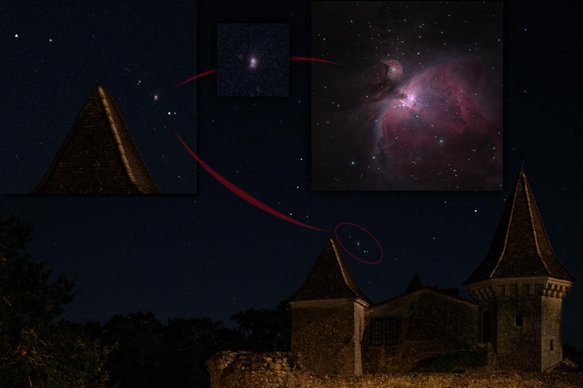 Gwiazdozbiór Oriona iWielka Mgławica (M42)